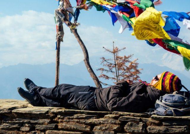 Verblijf in theehuizen tijdens trektochten in Nepal