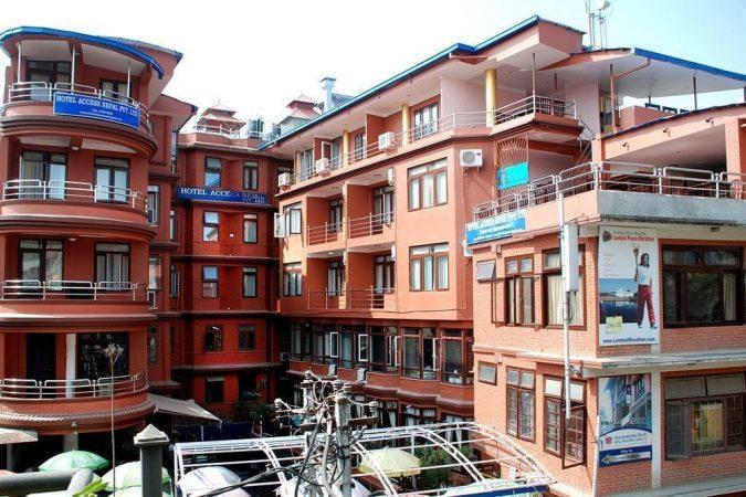 hotel acess kathmandu trekking
