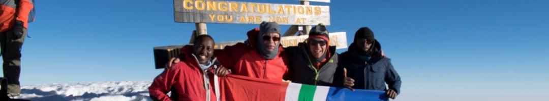 Climbing Kilimanjaro with Bookatrekking.com