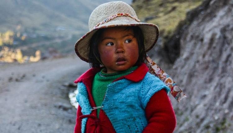 Inheemse bevolking Lares Trek - Peru