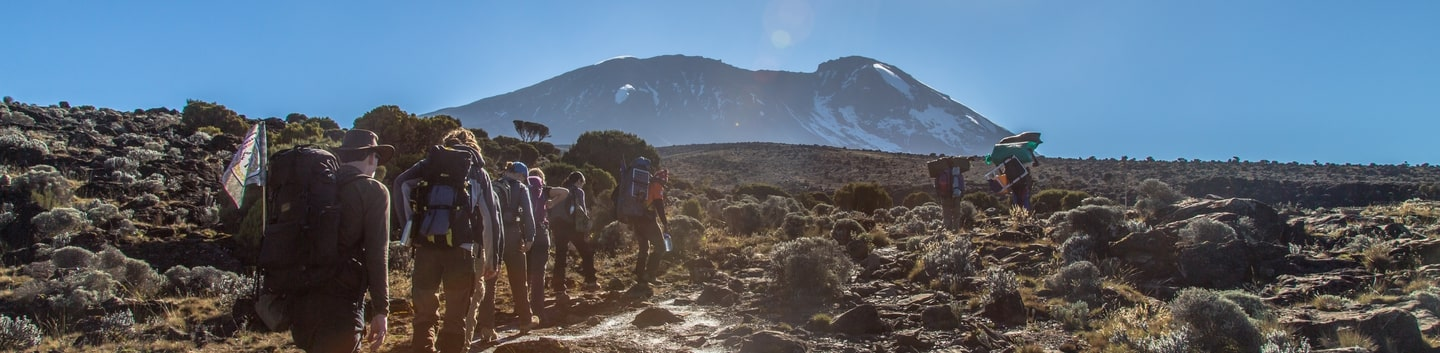 Umbwe Route (6 days) – Top Climbers Expedition
