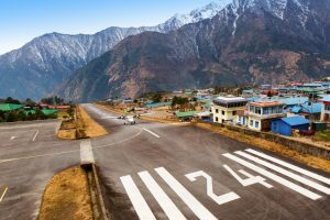 lukla airport trekking to everest base camp