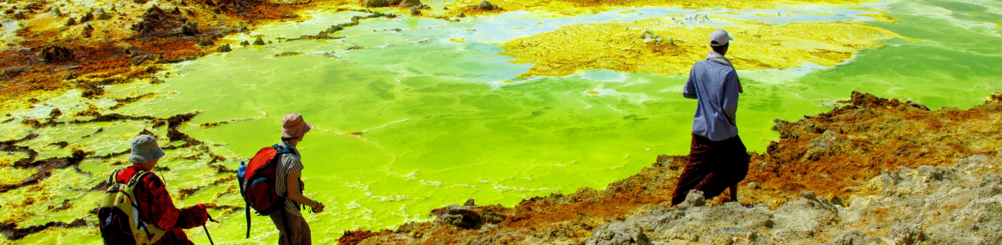 Trekking in the Danakil Depression (3 days) – Simien Mountain trekking and tours