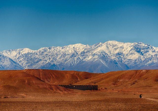 Trekking in het Atlasgebergte in Marokko